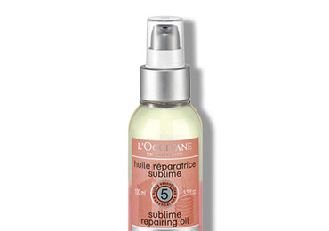 Haire care routine - Aromachology heat-protective control mist - l'Occitane