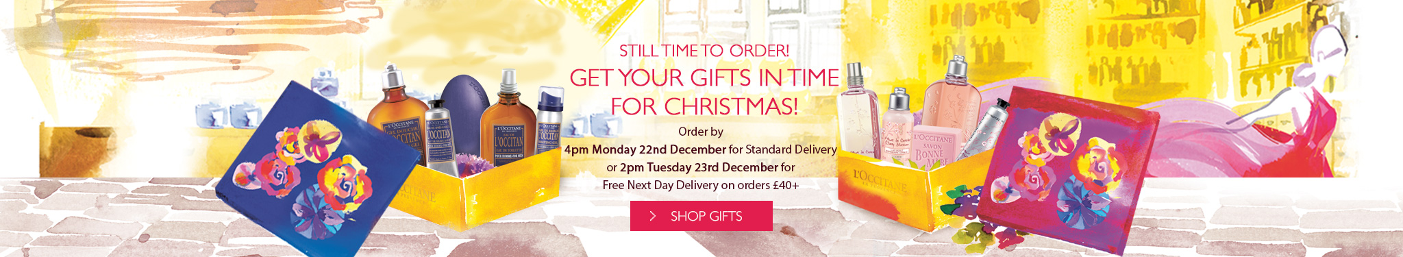 Get Your Gifts in Time for Christmas