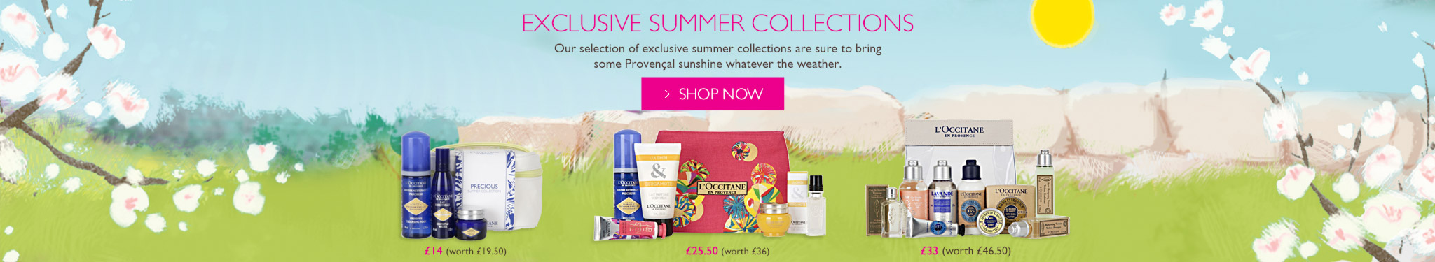 Summer Exclusive Collections
