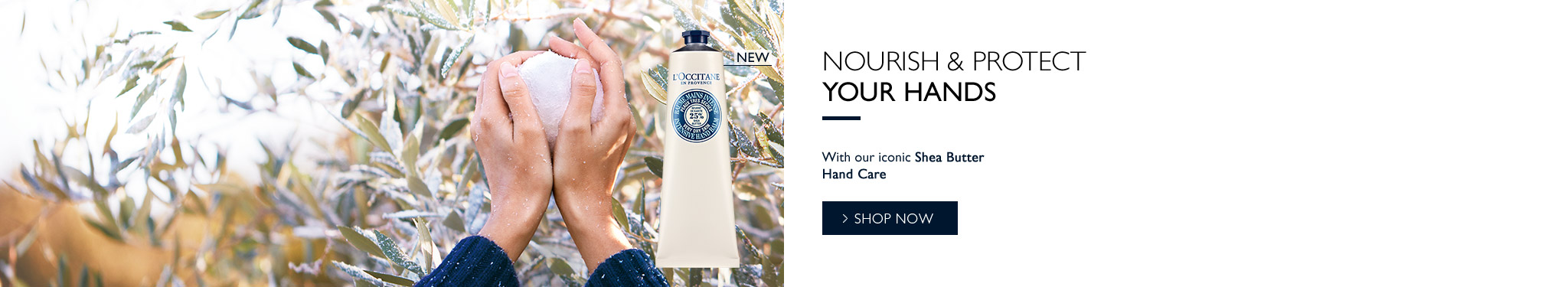 L'Occitane Shea Butter Hand Care