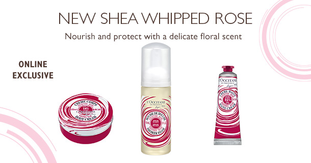 L'Occitane Shea Whipped Rose