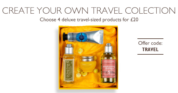L'Occitane Create Your Travel Collection