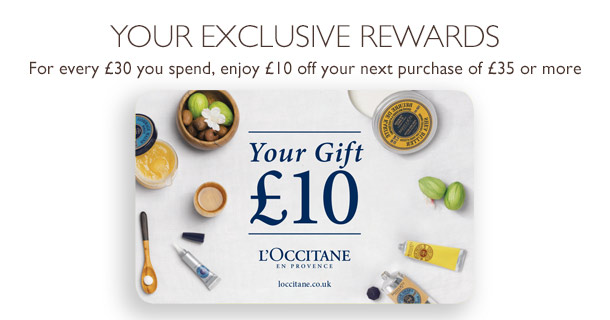 L'Occitane Exclusive Rewards