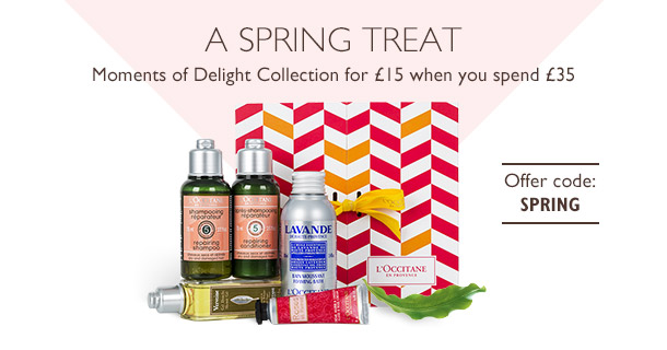 L'Occitane Moments of Delight Collection