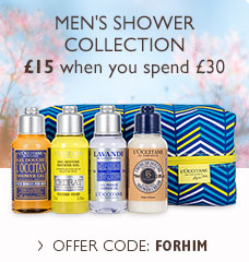 L'Occitane Men's Travel Shower Collection