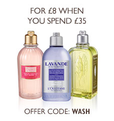 L'Occitane Shower Gel Offer